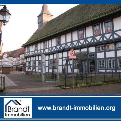 Beste Verkaufs- und Wohnfläche in historischer Altstadt Uslar, VHB